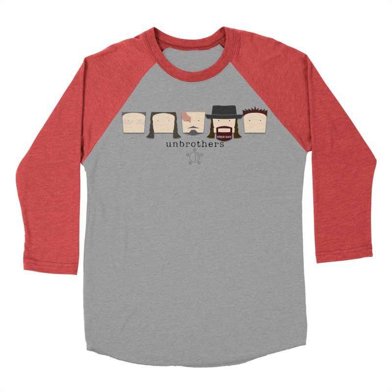 Blockheads Men's Baseball Triblend T-Shirt by unStuff by unBrothers