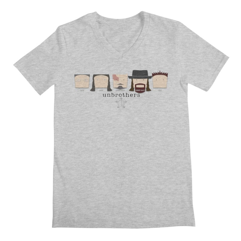 Blockheads Men's Regular V-Neck by unStuff by unBrothers