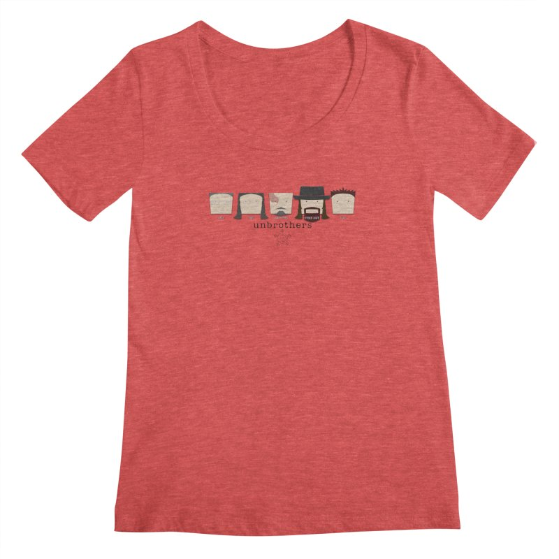 Blockheads Women's Scoopneck by unStuff by unBrothers