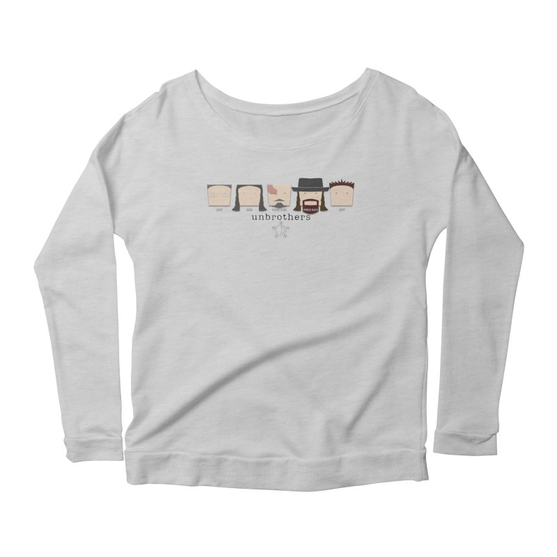 Blockheads Women's Scoop Neck Longsleeve T-Shirt by unStuff by unBrothers