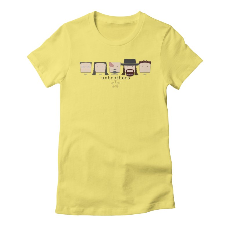 Blockheads Women's Fitted T-Shirt by unStuff by unBrothers