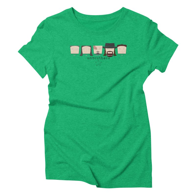 Blockheads Women's Triblend T-Shirt by unStuff by unBrothers