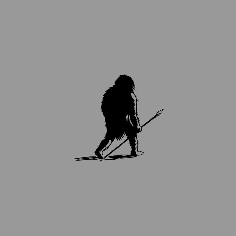 Uncivilized Books Caveman Logo T-Shirt Accessories Magnet by Uncivilized Books Merch Shop