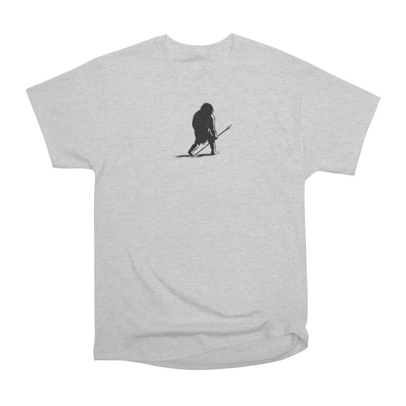 Uncivilized Books Caveman Logo T-Shirt Men's Heavyweight T-Shirt by Uncivilized Books Merch Shop