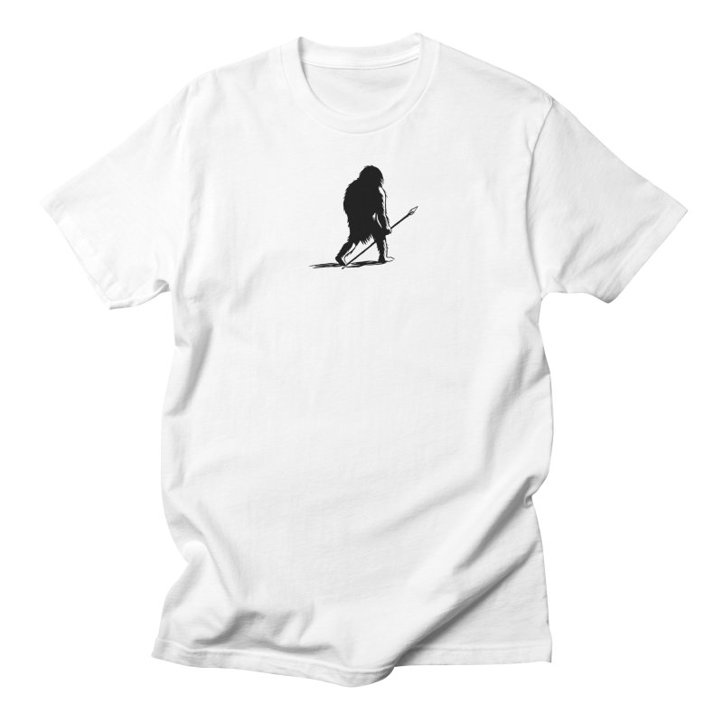 Uncivilized Books Caveman Logo T-Shirt Women's Unisex T-Shirt by Uncivilized Books Merch Shop