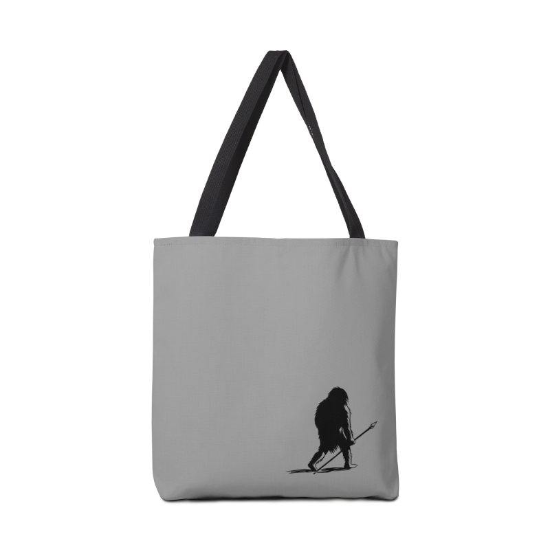 Uncivilized Books Caveman Logo T-Shirt in Tote Bag by Uncivilized Books Merch Shop