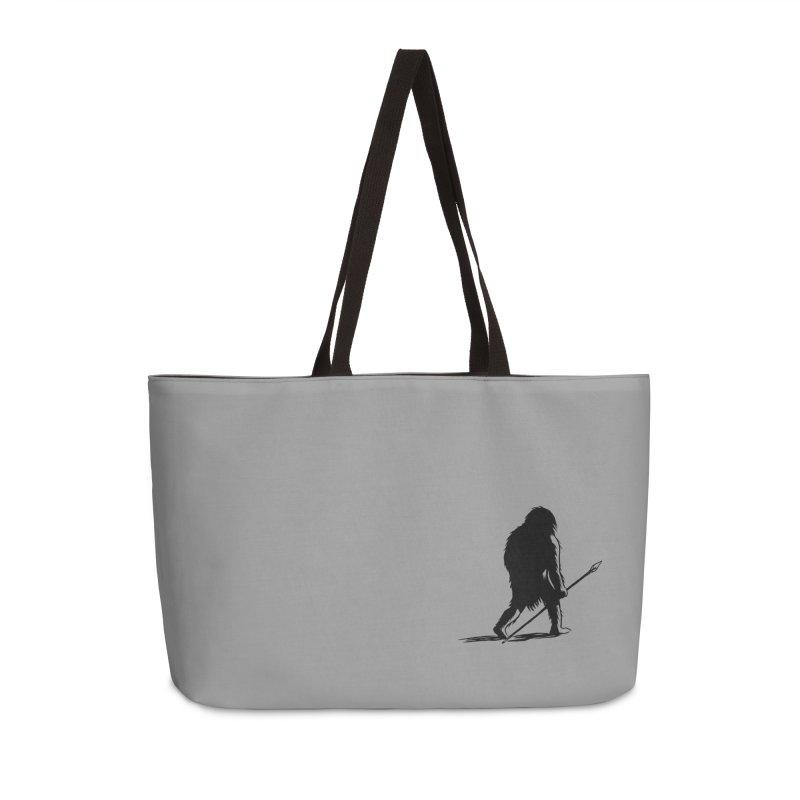 Uncivilized Books Caveman Logo T-Shirt Accessories Weekender Bag Bag by Uncivilized Books Merch Shop