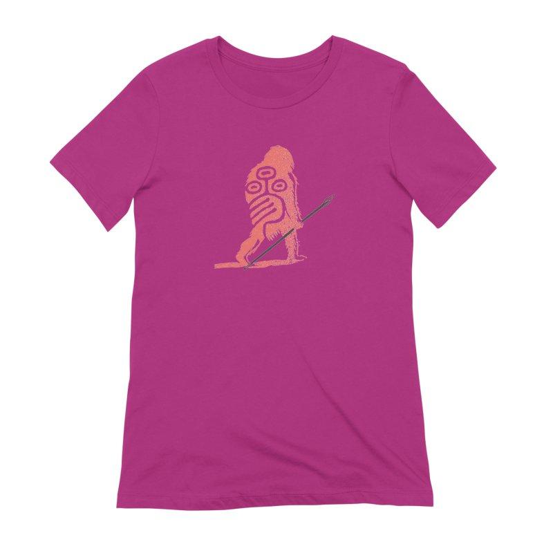 CRAIG THOMPSON UNCIV CAVEMAN LOGO Women's Extra Soft T-Shirt by Uncivilized Books Merch Shop