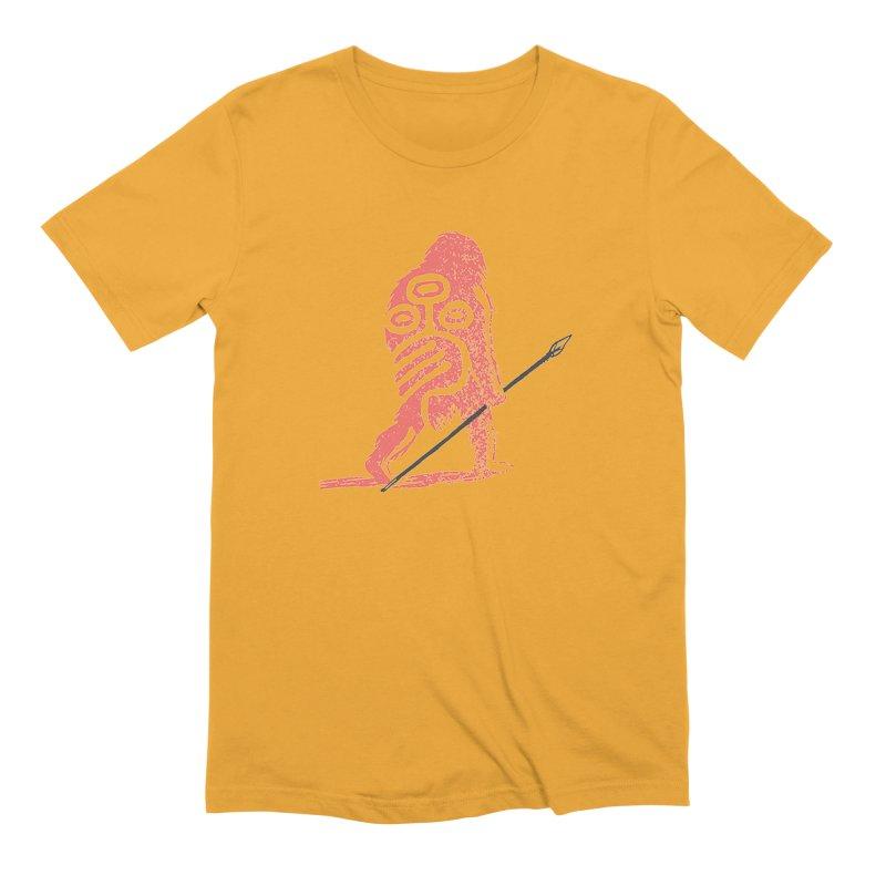 CRAIG THOMPSON UNCIV CAVEMAN LOGO Men's Extra Soft T-Shirt by Uncivilized Books Merch Shop