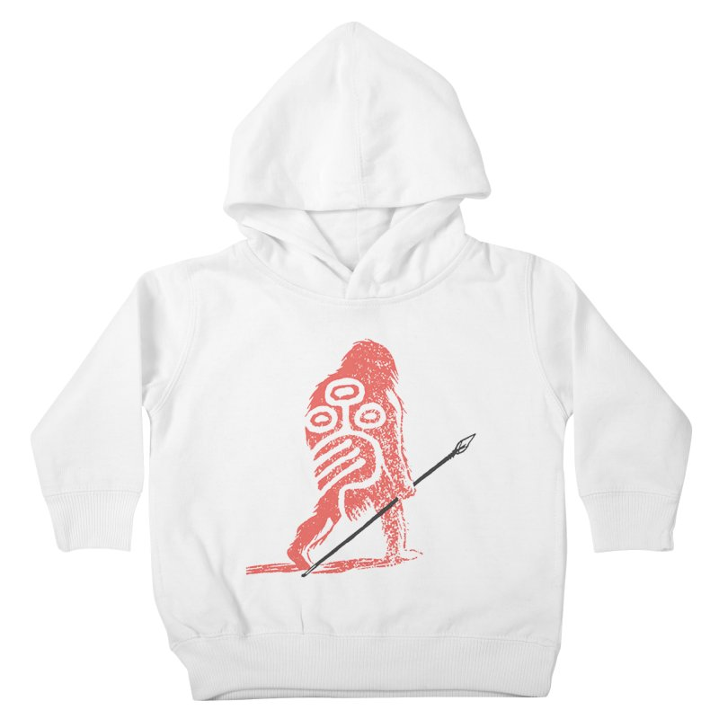 CRAIG THOMPSON UNCIV CAVEMAN LOGO Kids Toddler Pullover Hoody by Uncivilized Books Merch Shop