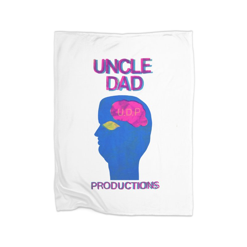 UDP on the Brain Home Blanket by UNCLE DAD PRODUCTIONS