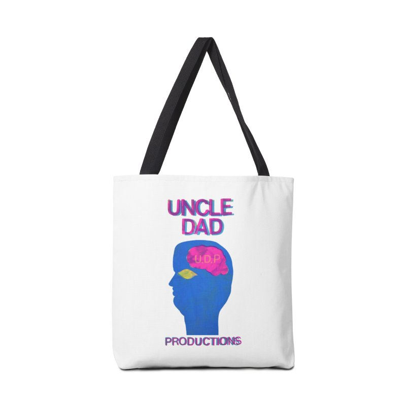 UDP on the Brain Accessories Bag by UNCLE DAD PRODUCTIONS