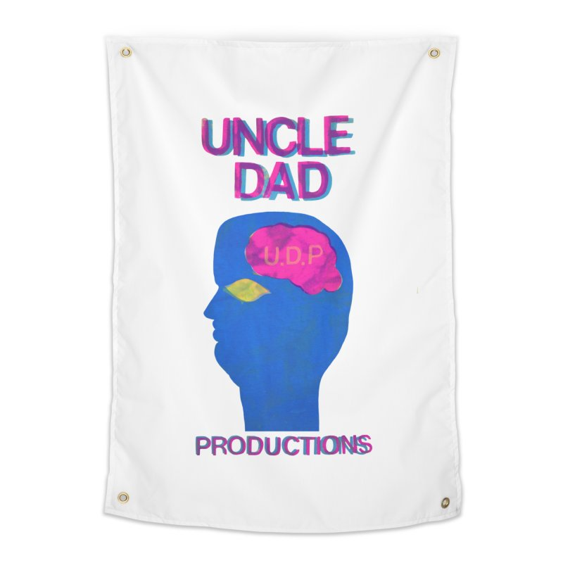 UDP on the Brain Home Tapestry by UNCLE DAD PRODUCTIONS