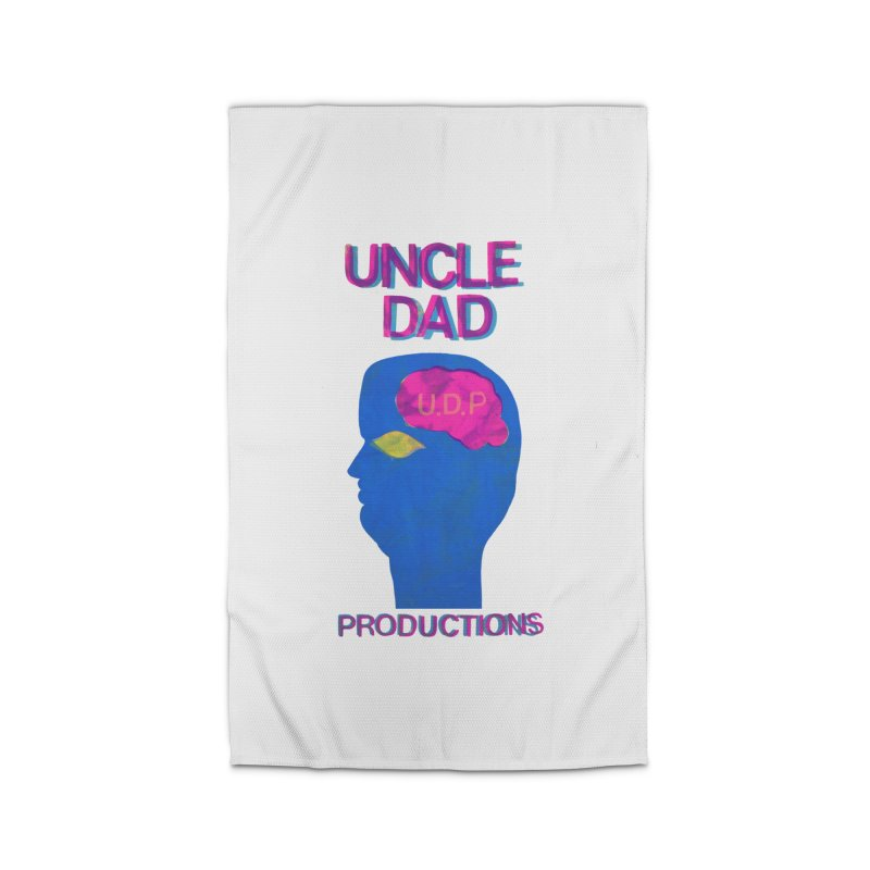 UDP on the Brain Home Rug by UNCLE DAD PRODUCTIONS
