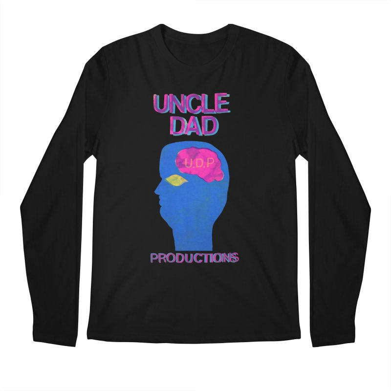UDP on the Brain Men's Longsleeve T-Shirt by UNCLE DAD PRODUCTIONS