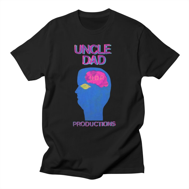 UDP on the Brain Men's T-shirt by UNCLE DAD PRODUCTIONS