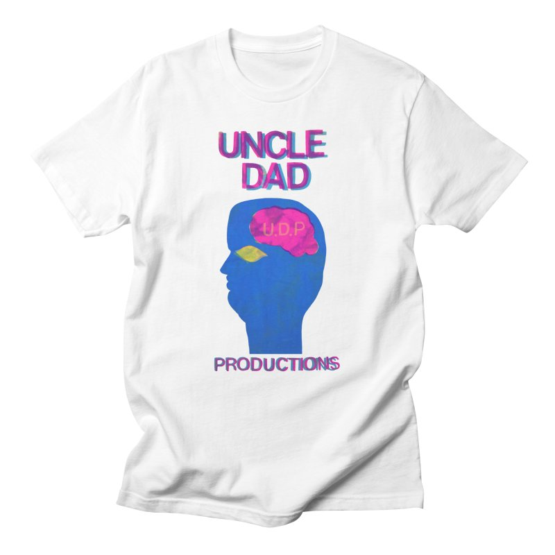 UDP on the Brain Men's Regular T-Shirt by UNCLE DAD PRODUCTIONS