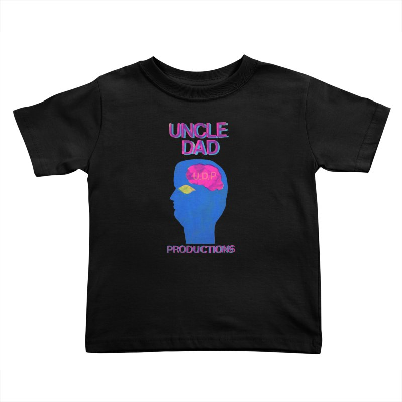 UDP on the Brain Kids Toddler T-Shirt by UNCLE DAD PRODUCTIONS