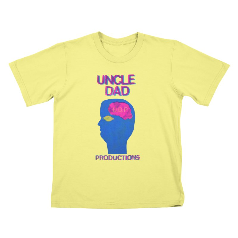 UDP on the Brain Kids T-shirt by UNCLE DAD PRODUCTIONS