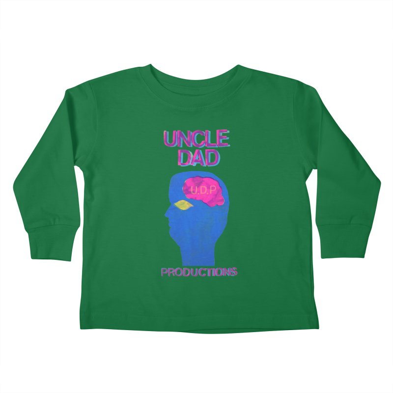 UDP on the Brain Kids Toddler Longsleeve T-Shirt by UNCLE DAD PRODUCTIONS