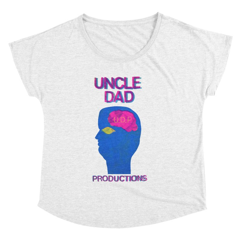 UDP on the Brain Women's Dolman by UNCLE DAD PRODUCTIONS