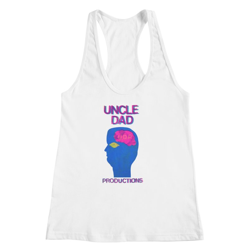 UDP on the Brain Women's Racerback Tank by UNCLE DAD PRODUCTIONS