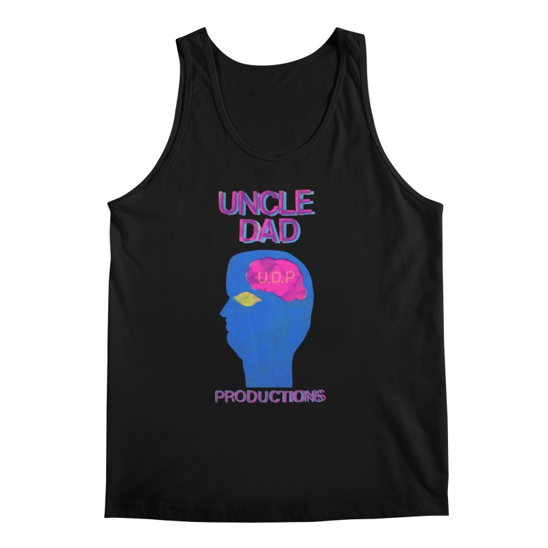 UDP on the Brain Men's Regular Tank by UNCLE DAD PRODUCTIONS