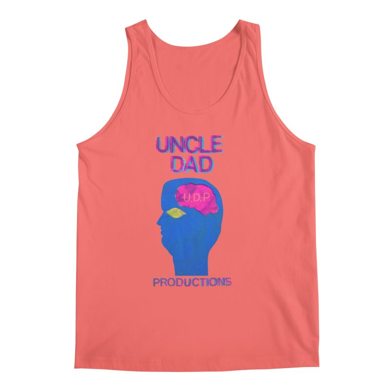 UDP on the Brain Men's Tank by UNCLE DAD PRODUCTIONS