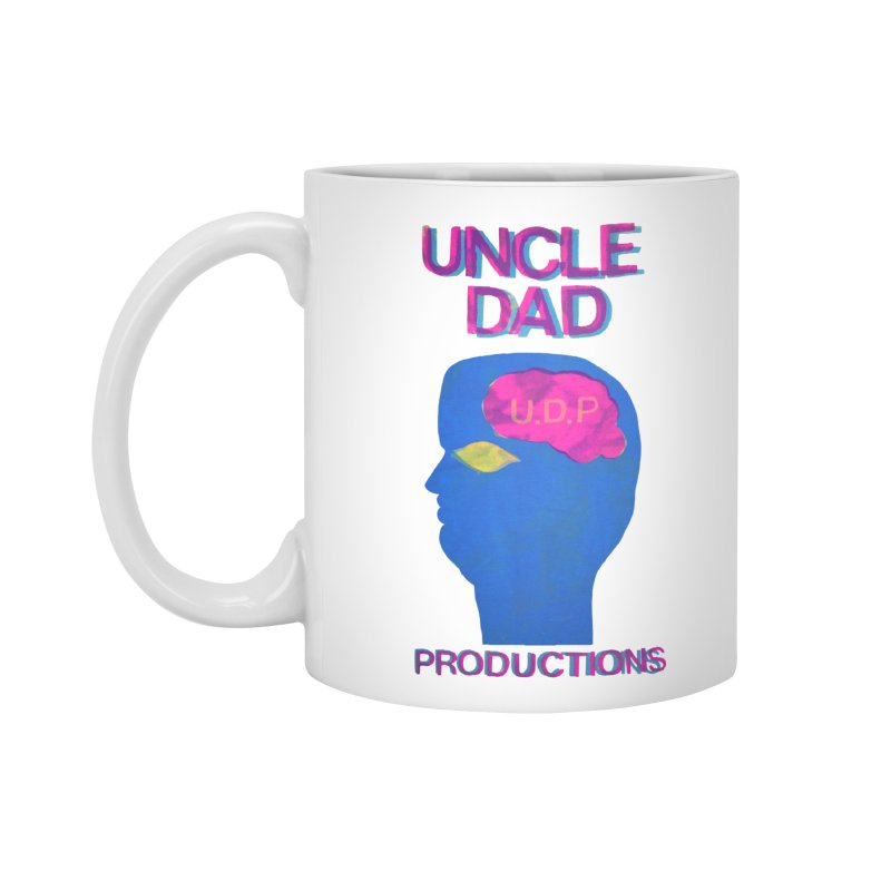 UDP on the Brain Accessories Mug by UNCLE DAD PRODUCTIONS