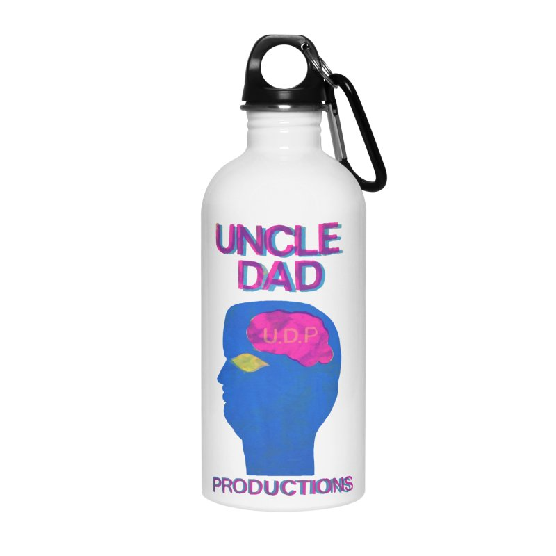UDP on the Brain Accessories Water Bottle by UNCLE DAD PRODUCTIONS
