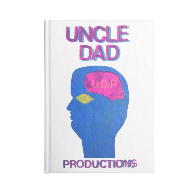 UDP on the Brain Accessories Notebook by UNCLE DAD PRODUCTIONS