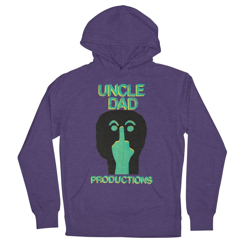 Pissed Alien Women's French Terry Pullover Hoody by UNCLE DAD PRODUCTIONS