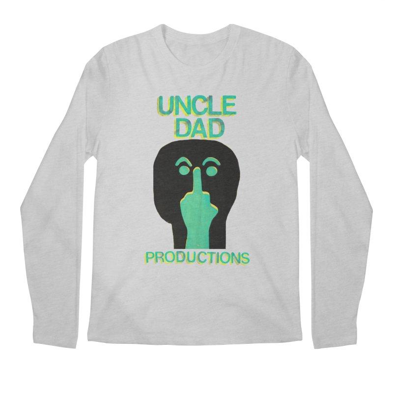 Pissed Alien Men's Longsleeve T-Shirt by UNCLE DAD PRODUCTIONS
