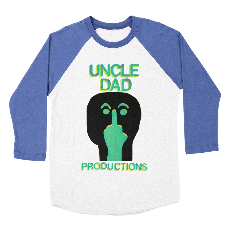 Pissed Alien Men's Baseball Triblend T-Shirt by UNCLE DAD PRODUCTIONS