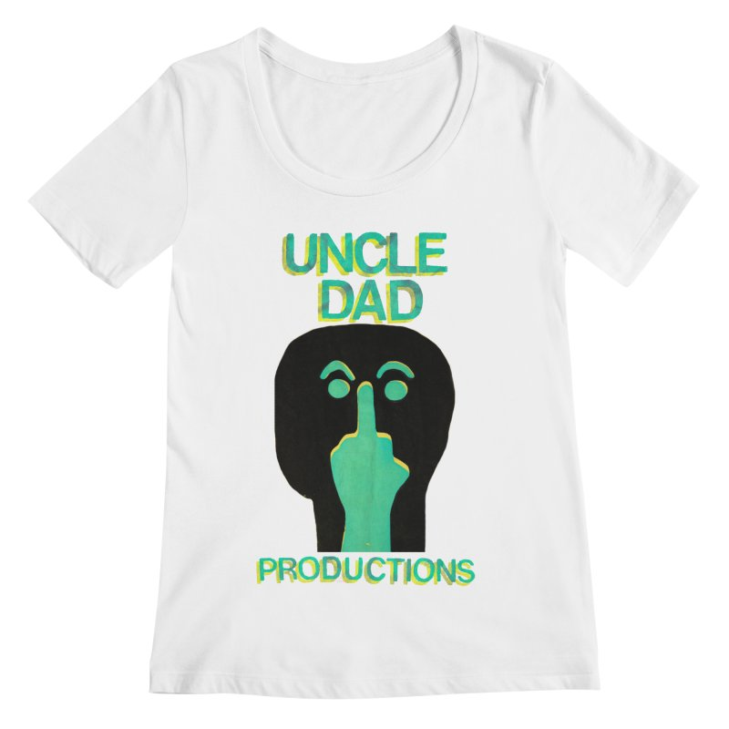 Pissed Alien Women's Scoopneck by UNCLE DAD PRODUCTIONS