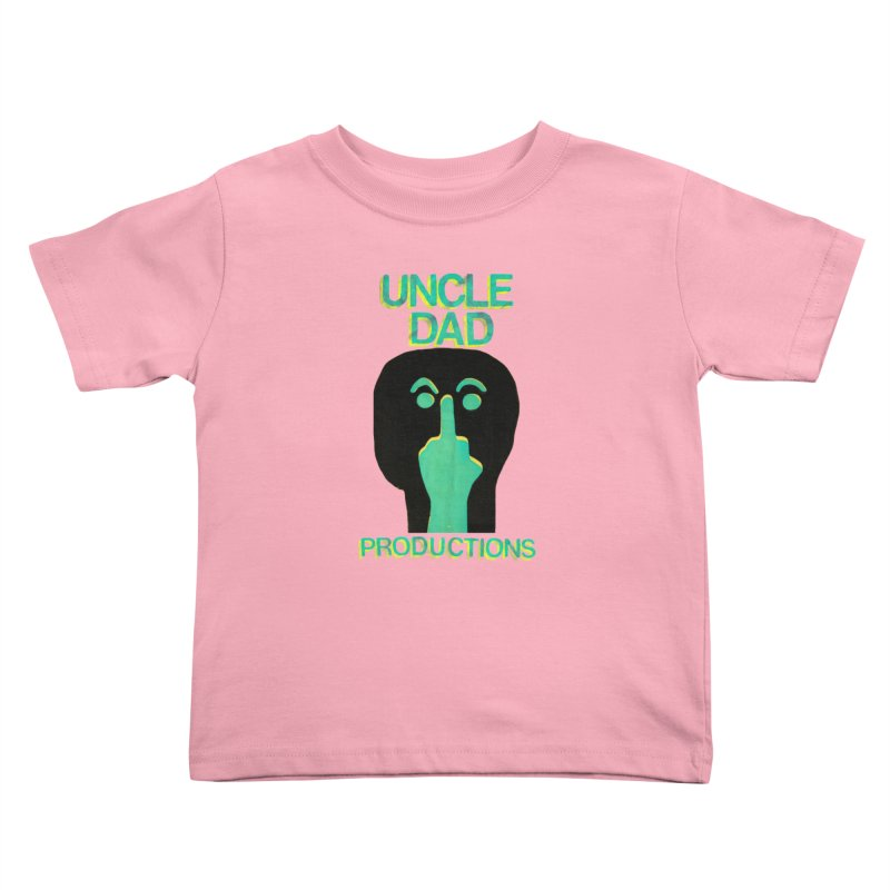 Pissed Alien Kids Toddler T-Shirt by UNCLE DAD PRODUCTIONS