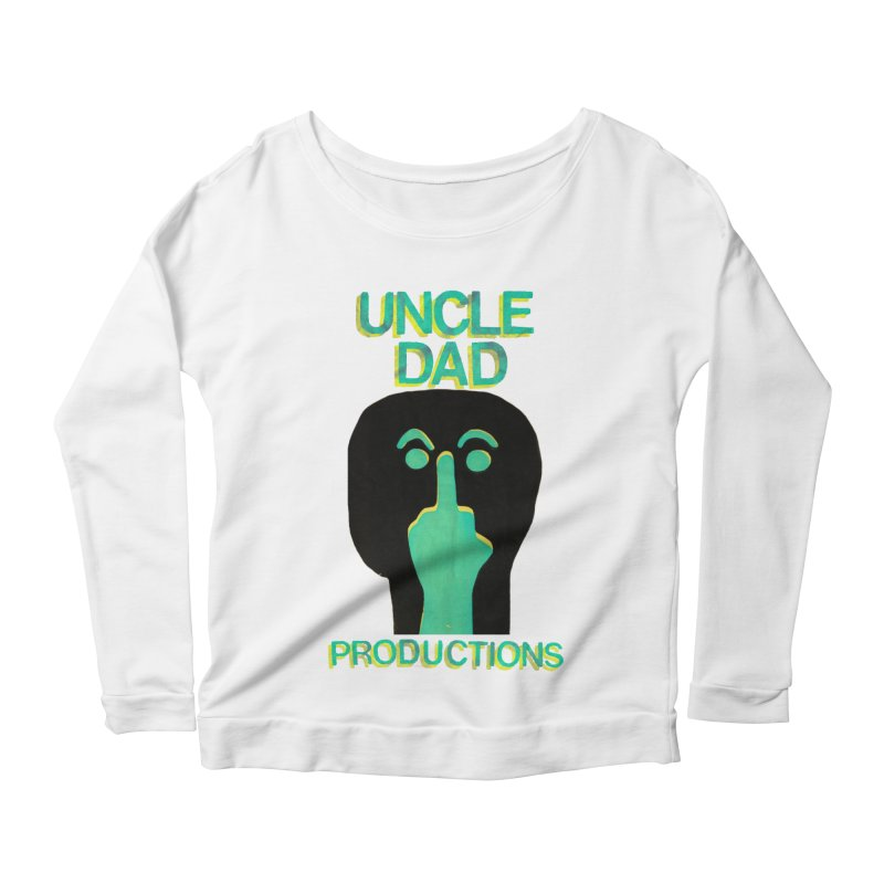 Pissed Alien Women's Scoop Neck Longsleeve T-Shirt by UNCLE DAD PRODUCTIONS