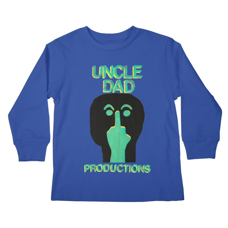 Pissed Alien Kids Longsleeve T-Shirt by UNCLE DAD PRODUCTIONS