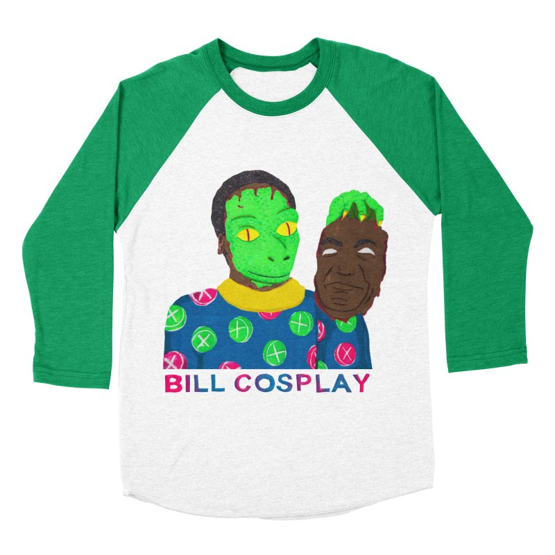 Bill Cosplay Men's Baseball Triblend T-Shirt by UNCLE DAD PRODUCTIONS