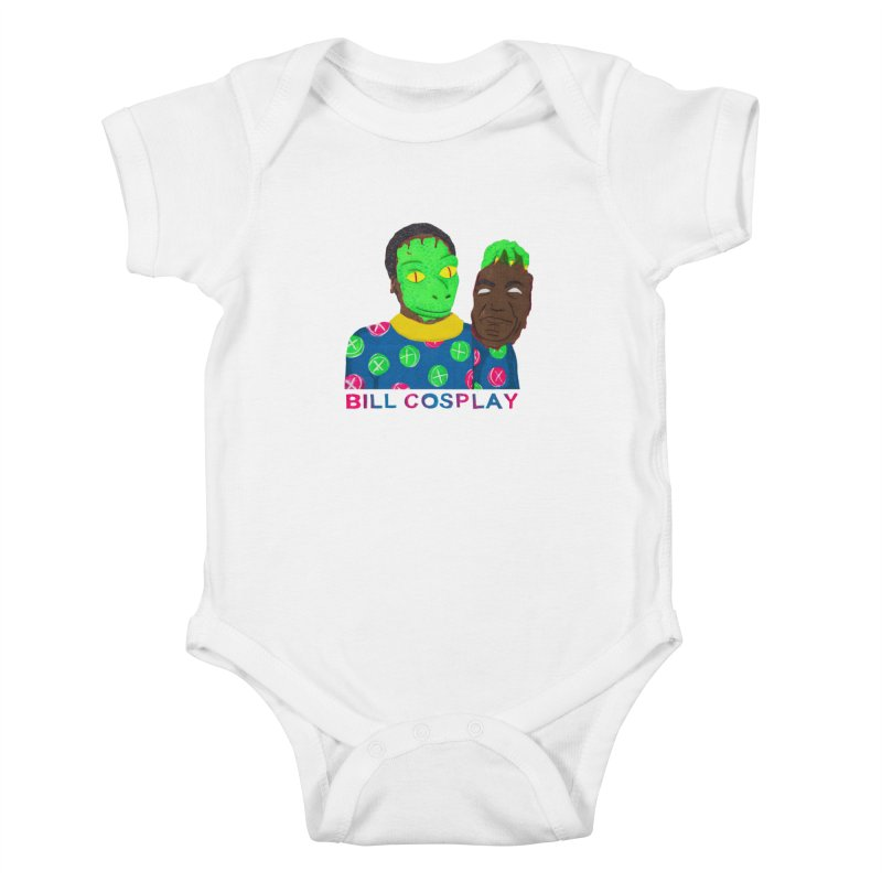 Bill Cosplay Kids Baby Bodysuit by UNCLE DAD PRODUCTIONS