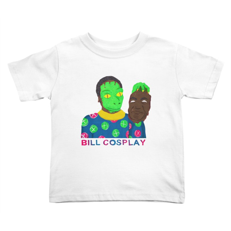 Bill Cosplay Kids Toddler T-Shirt by UNCLE DAD PRODUCTIONS