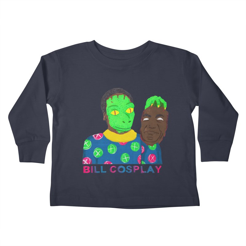 Bill Cosplay Kids Toddler Longsleeve T-Shirt by UNCLE DAD PRODUCTIONS