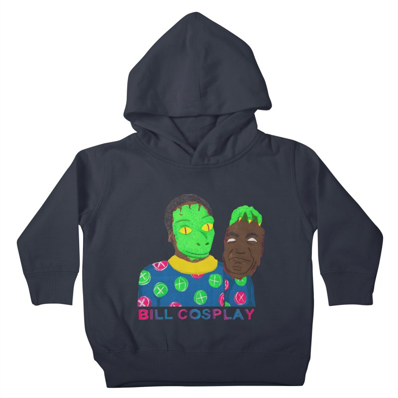 Bill Cosplay Kids Toddler Pullover Hoody by UNCLE DAD PRODUCTIONS