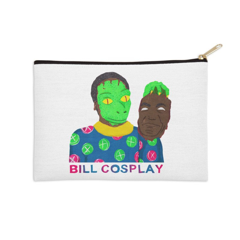 Bill Cosplay Accessories Zip Pouch by UNCLE DAD PRODUCTIONS