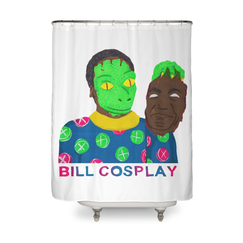 Bill Cosplay Home Shower Curtain by UNCLE DAD PRODUCTIONS