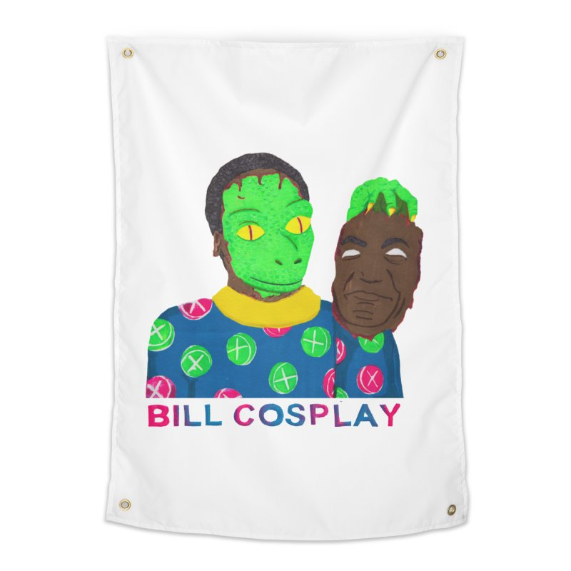 Bill Cosplay Home Tapestry by UNCLE DAD PRODUCTIONS