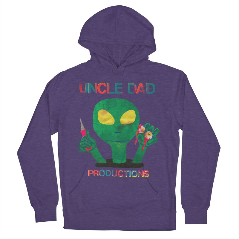 Violent Alien Women's French Terry Pullover Hoody by UNCLE DAD PRODUCTIONS
