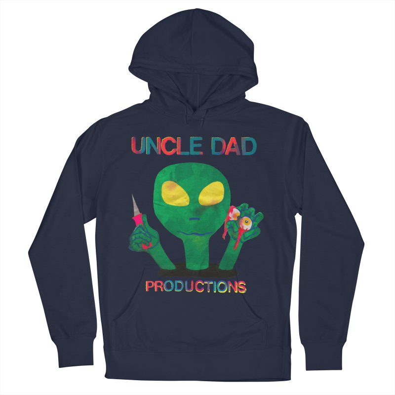Violent Alien Women's Pullover Hoody by UNCLE DAD PRODUCTIONS