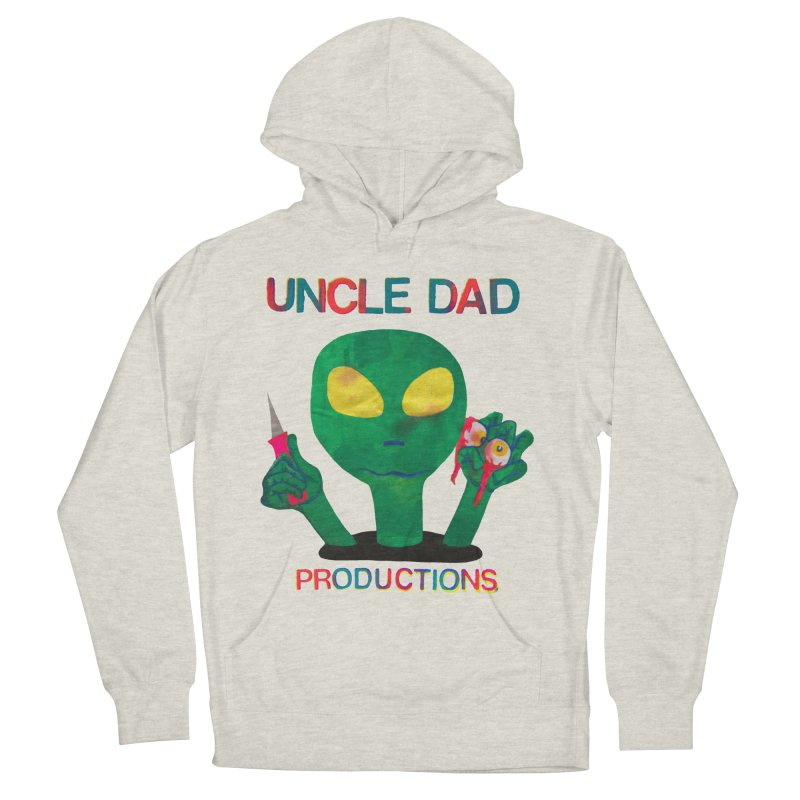 Violent Alien Men's French Terry Pullover Hoody by UNCLE DAD PRODUCTIONS
