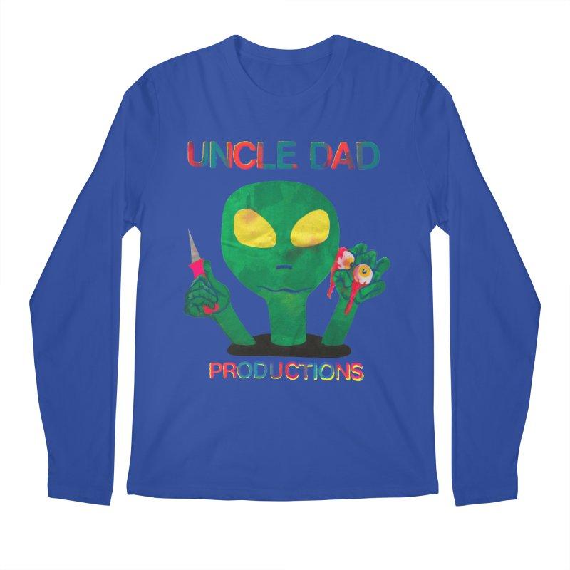 Violent Alien Men's Longsleeve T-Shirt by UNCLE DAD PRODUCTIONS